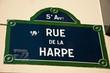 rue de la Harpe à Paris 5ièm