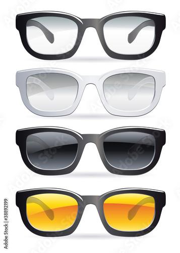 Fotografía  lunettes de vue et de soleil