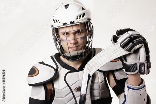 Foto-Stoff bedruckt - Hockey (von pedschwork)