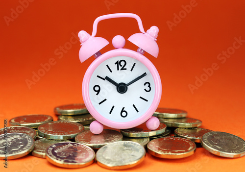 Pink Money Dawn - Buy this stock photo and explore similar