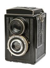 Oldt Twin Lens Reflex Camera