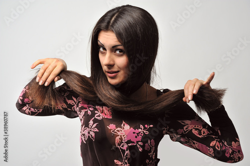 Fotografia, Obraz  Woman with beautiful hair