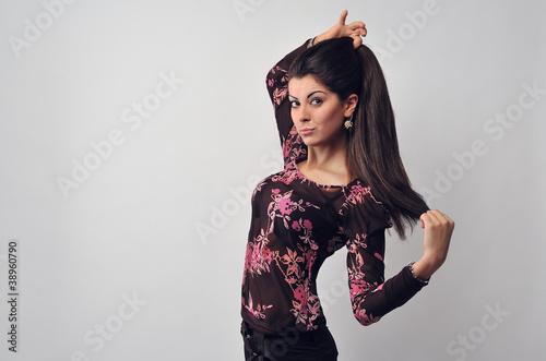 Fotografija  Woman with beautiful hair