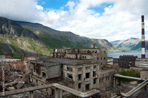 Papiers peints Les vieux bâtiments abandonnés abandon factory