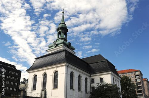 Nykirken, New Church in Bergen, Norway