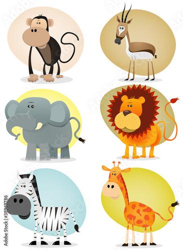 kolekcja-african-jungle-animals