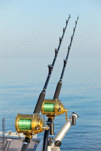 Printed kitchen splashbacks Fishing big game fishing