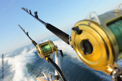 Foto auf AluDibond Fischerei big game fishing