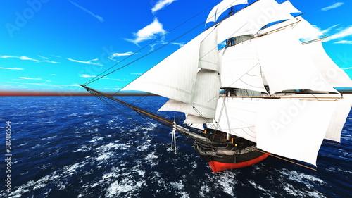 帆船 © tsuneomp