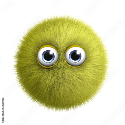 Poster de jardin Doux monstres yellow bug