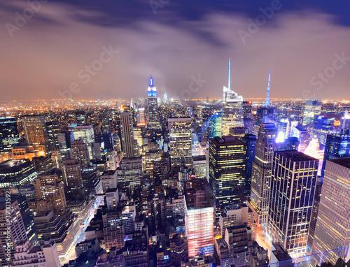 Photo Stands New York New York CitySskyline