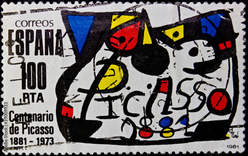 Cuadros en Lienzo  Stamp Spain