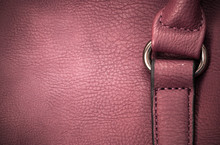 Closeup Of A Leather With A Belt