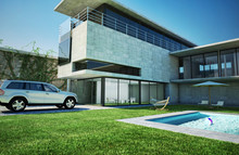 Modern Luxury Villa With Swimm...