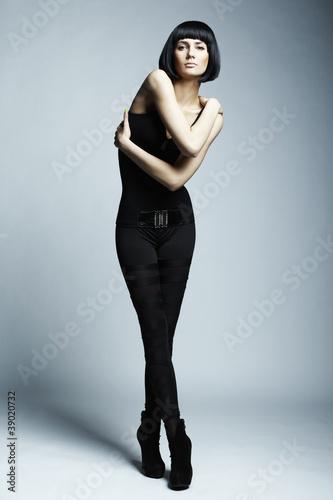 Foto op Plexiglas womenART Fashion photo of young long-legged woman