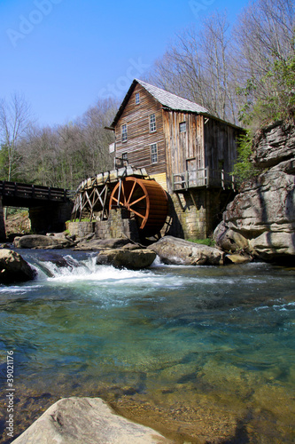 Glade creek Grist mill in West Virginia Canvas Print