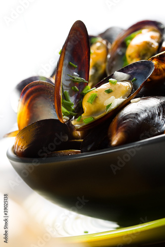 Photo Moules marinières