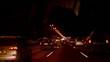 night traffic on the highway
