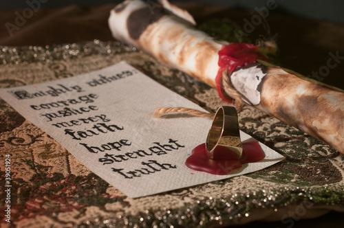 Carta da parati Knightly Virtues