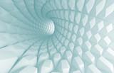 Fototapeta Do przedpokoju - Abstract Tunnel Background