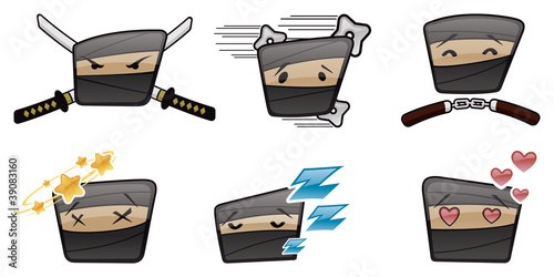 Fotografía Ninja Icons