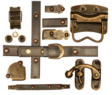 Collection Of Decorative Metal Elements