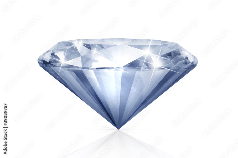 Doppelrollo mit Motiv - Diamant 6