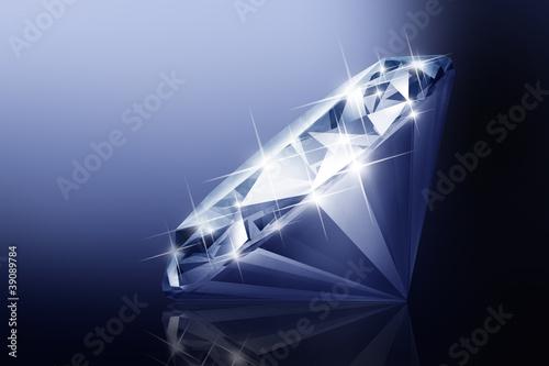 Plissee mit Motiv - Diamant 10