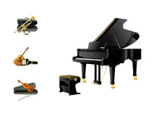 0502 Realistic Music Icons