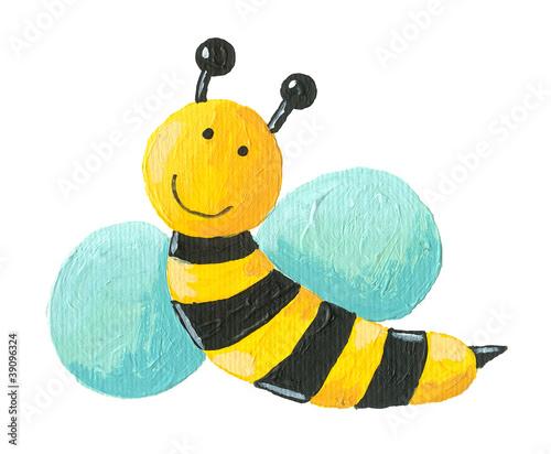 slodkie-pszczoly-latajace