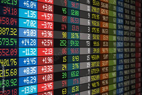 Fotografía  Stock market concept
