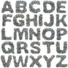 Screws Alphabet