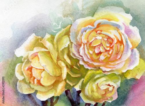 watercolor-flower-rose