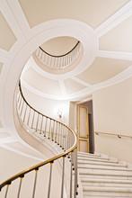 Stairwell In Warsaw Royal Castle - World Heritage List - UNESCO.