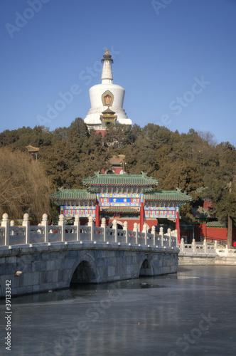 Papiers peints Pékin Beihai Park Landmark in Beijing / Peking - China
