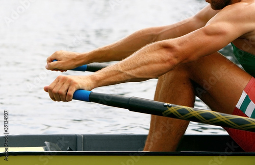 Fotografie, Obraz  rower in training