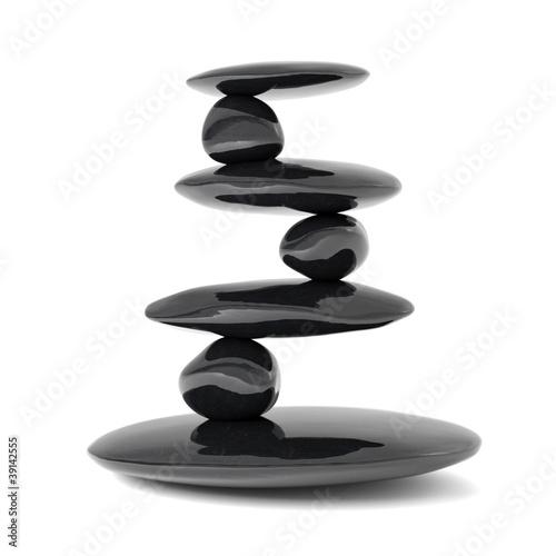 Zen stones balance concept - 39142555