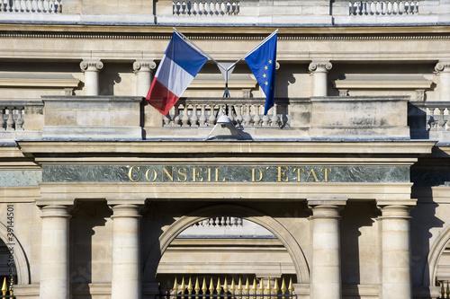 Conseil d'Etat, Paris, France Poster