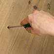 Using a screwdriver