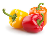 Red Orange And Yellow Pepper