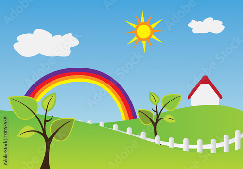 Photo Stands Rainbow Home rainbow