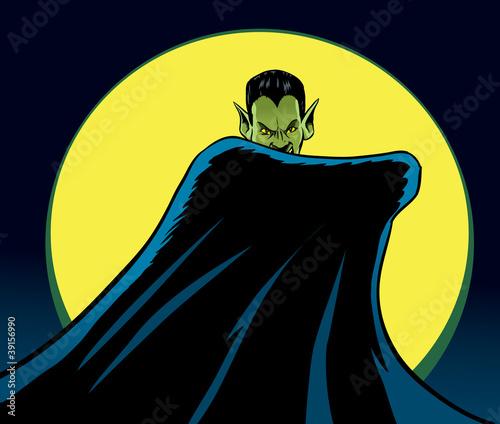 Fotografie, Obraz  Mysterious Dracula