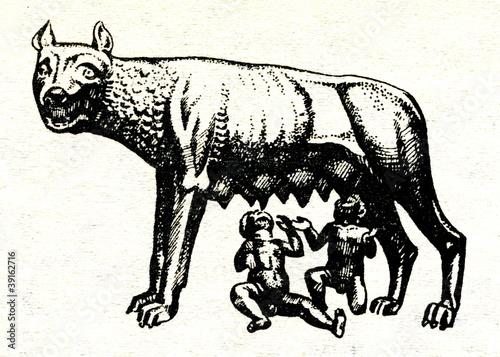 Capitoline wolf Tablou Canvas