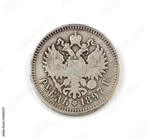 Valokuva  Old Russian coin
