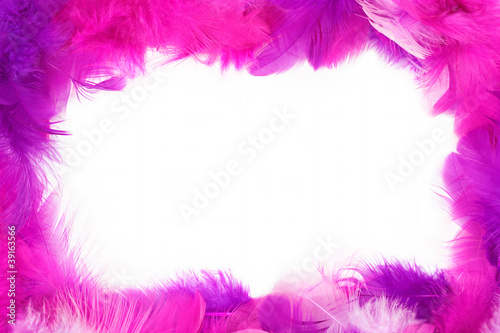 Feather frame - 39163566