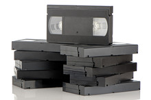 Pile Of Videotapes