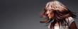Leinwandbild Motiv hair in motion