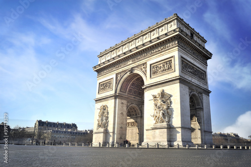 Valokuva  Arc de triomphe - Paris - France