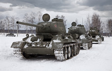 Old Russian Tanks