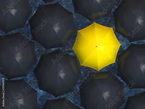 zolty-parasol